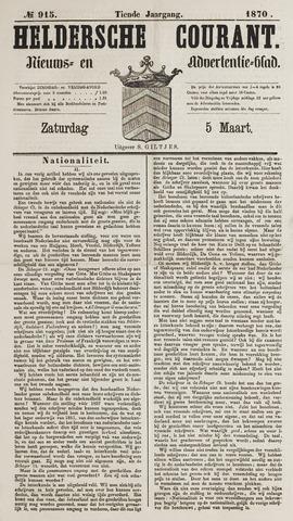 Heldersche Courant 1870-03-05