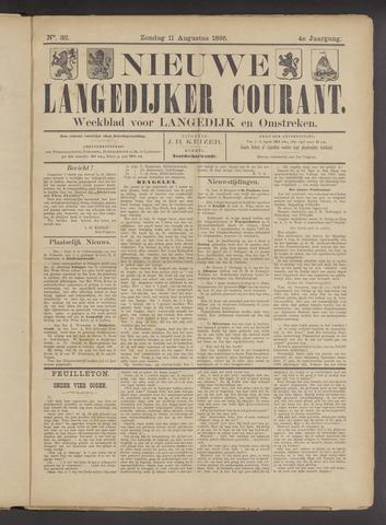 Nieuwe Langedijker Courant 1895-08-11