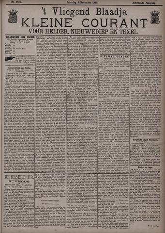Vliegend blaadje : nieuws- en advertentiebode voor Den Helder 1890-11-08
