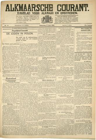 Alkmaarsche Courant 1933-06-17