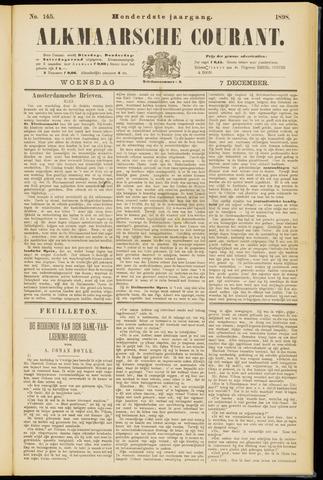Alkmaarsche Courant 1898-12-07