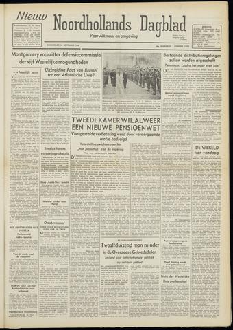 Nieuw Noordhollandsch Dagblad : voor Alkmaar en omgeving 1948-09-30