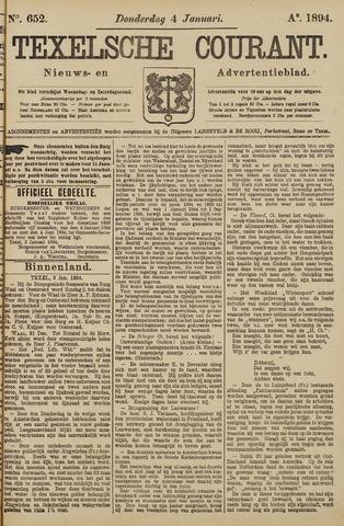 Texelsche Courant 1894-01-04