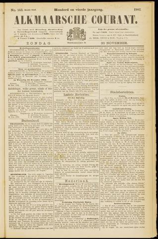 Alkmaarsche Courant 1902-11-30