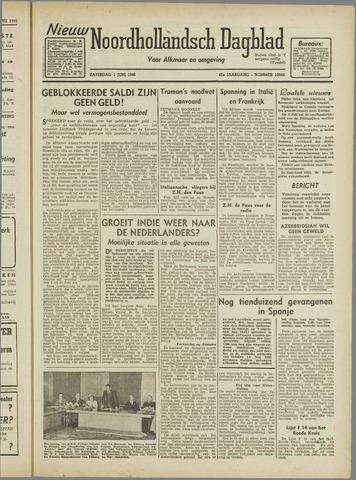 Nieuw Noordhollandsch Dagblad : voor Alkmaar en omgeving 1946-06-01