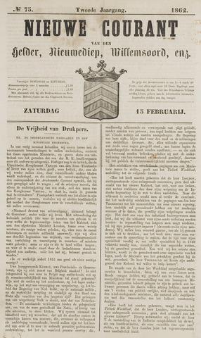 Nieuwe Courant van Den Helder 1862-02-15
