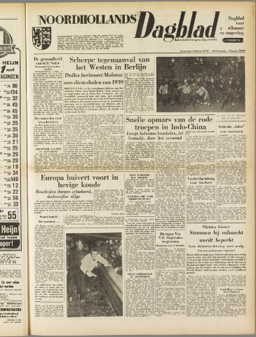 Noordhollands Dagblad : dagblad voor Alkmaar en omgeving 1954-02-03