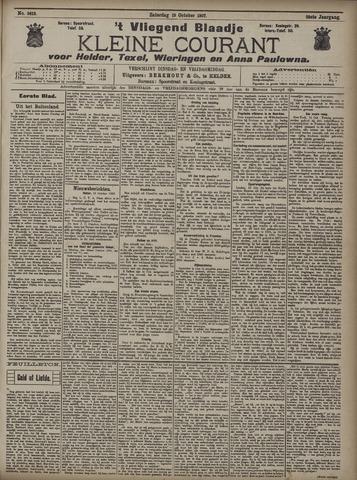 Vliegend blaadje : nieuws- en advertentiebode voor Den Helder 1907-10-19