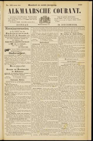 Alkmaarsche Courant 1899-12-24