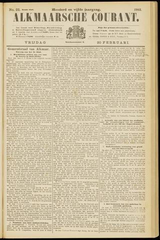 Alkmaarsche Courant 1903-02-20