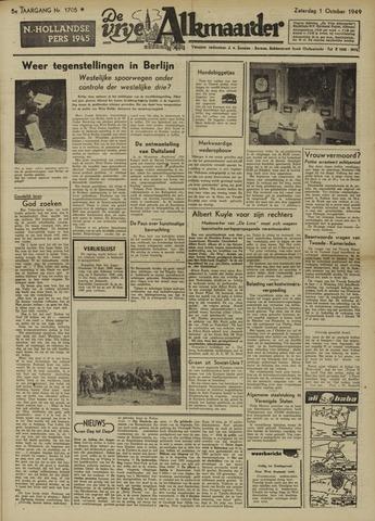 De Vrije Alkmaarder 1949-10-01