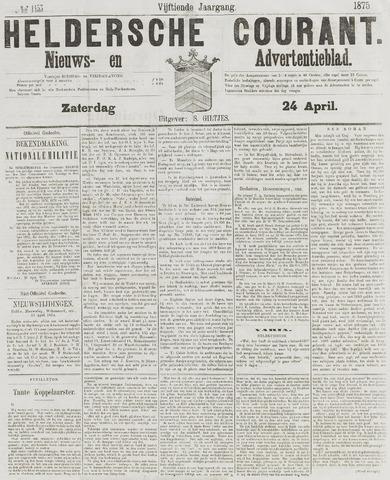 Heldersche Courant 1875-04-24