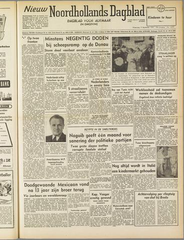 Nieuw Noordhollandsch Dagblad : voor Alkmaar en omgeving 1952-09-10
