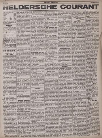 Heldersche Courant 1917-01-09