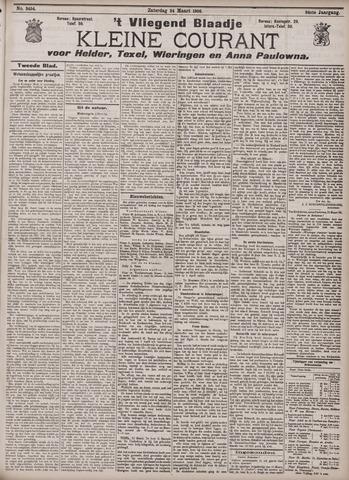 Vliegend blaadje : nieuws- en advertentiebode voor Den Helder 1906-03-24