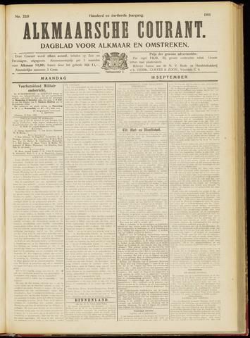 Alkmaarsche Courant 1911-09-18