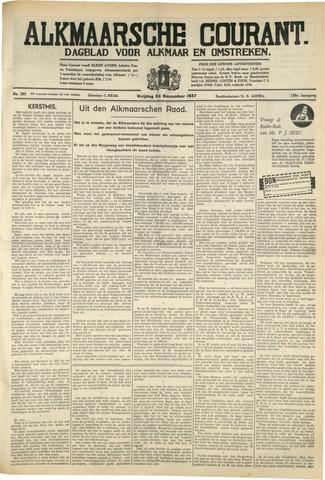 Alkmaarsche Courant 1937-12-24