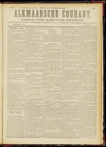 Alkmaarsche Courant 1919-04-09