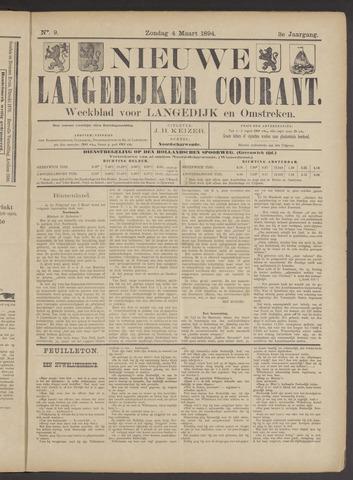 Nieuwe Langedijker Courant 1894-03-04