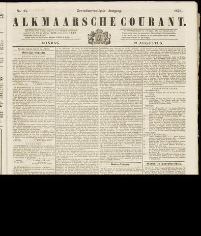 Alkmaarsche Courant 1875-08-22
