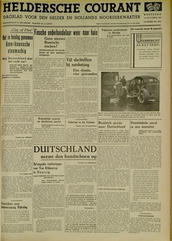 Heldersche Courant 1939-10-25