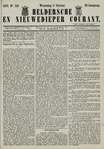 Heldersche en Nieuwedieper Courant 1870-10-05