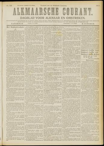 Alkmaarsche Courant 1919-10-25