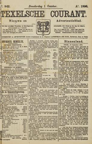 Texelsche Courant 1896-10-01