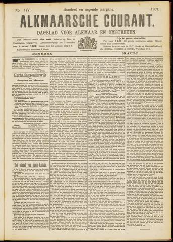 Alkmaarsche Courant 1907-07-30
