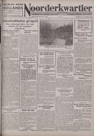 Dagblad voor Hollands Noorderkwartier 1941-10-24