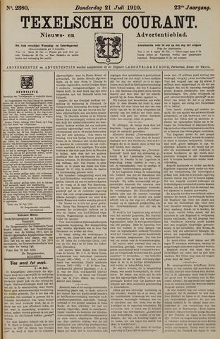 Texelsche Courant 1910-07-21