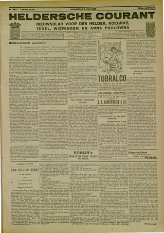 Heldersche Courant 1930-07-03