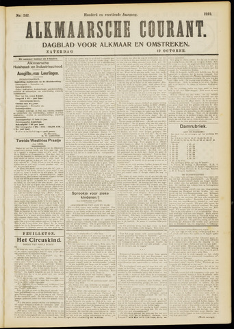 Alkmaarsche Courant 1912-10-12