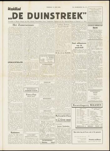 De Duinstreek 1958-07-25