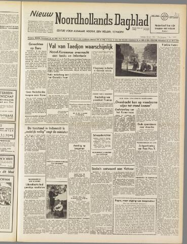 Nieuw Noordhollandsch Dagblad : voor Alkmaar en omgeving 1950-07-18