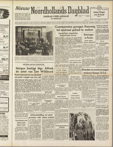 Nieuw Noordhollandsch Dagblad : voor Alkmaar en omgeving 1951-07-16