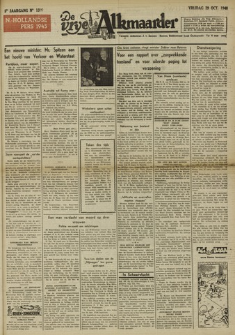 De Vrije Alkmaarder 1948-10-29