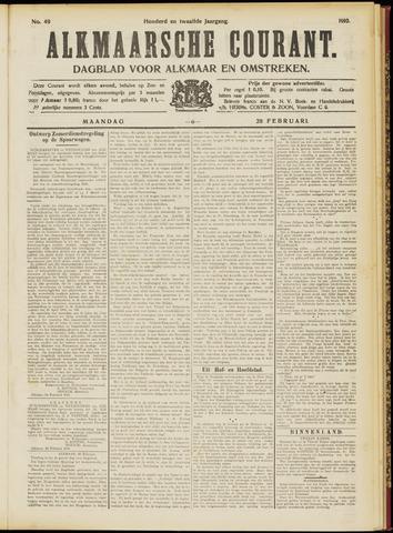 Alkmaarsche Courant 1910-02-28