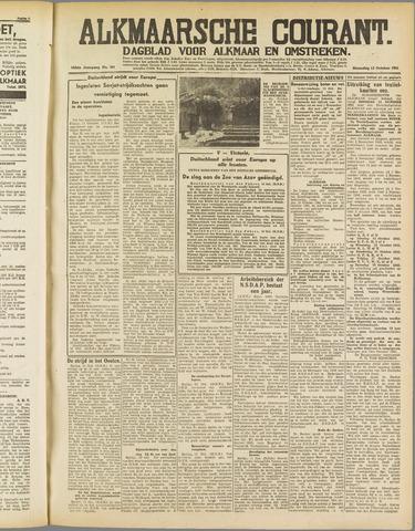 Alkmaarsche Courant 1941-10-13