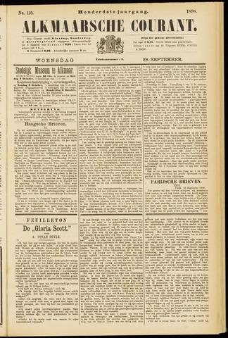 Alkmaarsche Courant 1898-09-28