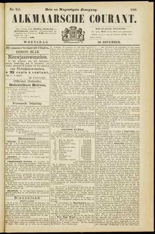 Alkmaarsche Courant 1891-12-30