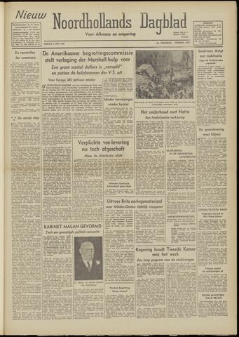 Nieuw Noordhollandsch Dagblad : voor Alkmaar en omgeving 1948-06-04