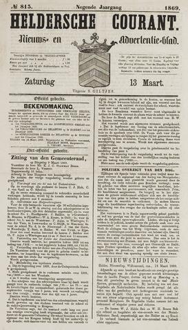 Heldersche Courant 1869-03-13