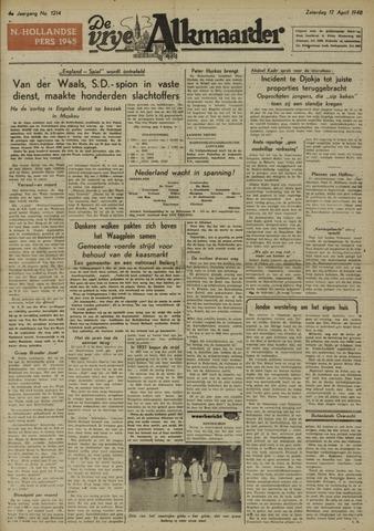 De Vrije Alkmaarder 1948-04-17