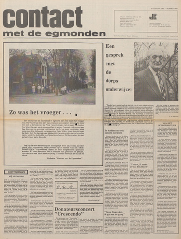 Contact met de Egmonden 1980-02-06