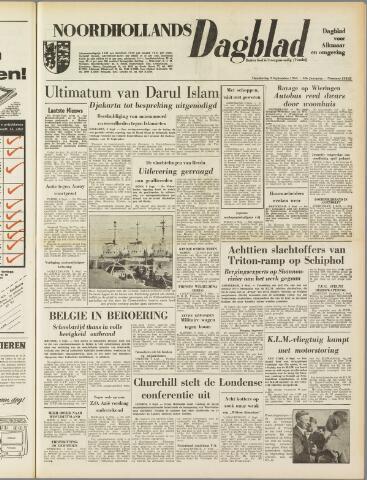 Noordhollands Dagblad : dagblad voor Alkmaar en omgeving 1954-09-09