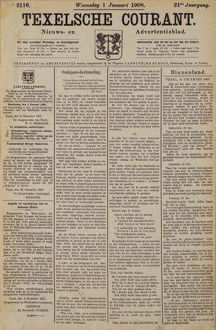 Texelsche Courant 1908