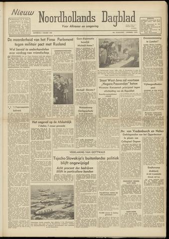Nieuw Noordhollandsch Dagblad : voor Alkmaar en omgeving 1948-03-06