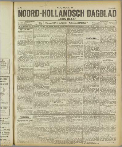 Ons Blad : katholiek nieuwsblad voor N-H 1922-09-18