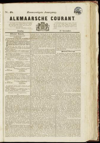 Alkmaarsche Courant 1864-11-27